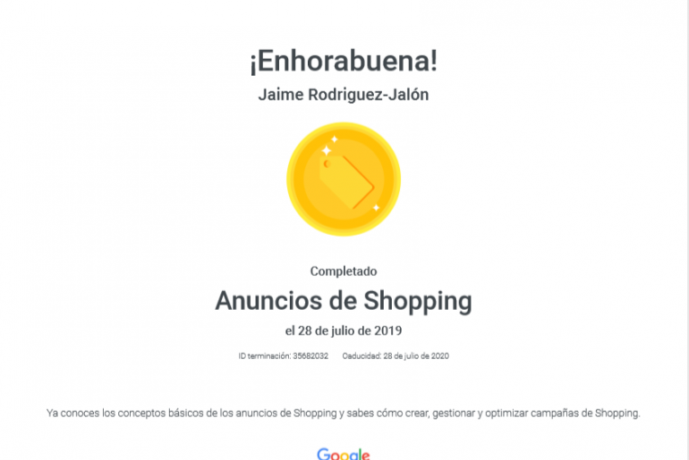 certificado-shopping-google-adwords-jaimejalonimagen-2019