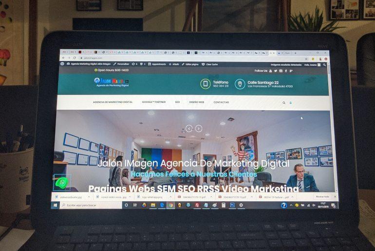 empresa de diseño de páginas web valladolid